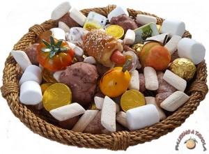 'U cannistru, il canestro con dolciumi e giocattoli