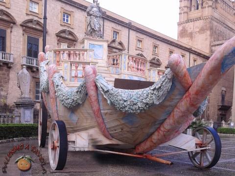carro di santa rosalia